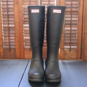 Hunter Original Back Adjustable Rain Boot